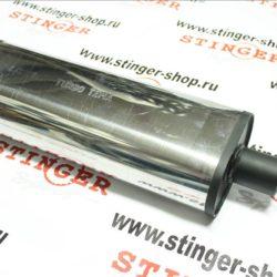 Глушитель TURBOTEMA универсальный, нерж. сталь, (450 х 51) 1