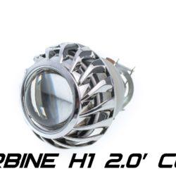 Биксеноновая линза Optimа Moto Turbine CCFL 2.0' H1, модуль под лампу H1 2.0 дюйма (бленда круглая 806 с АГ CCFL) 5