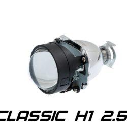 "Биксеноновая линза Optima Classic 2.5"" H1, модуль под лампу H1 2.5 дюйма без бленды 2"