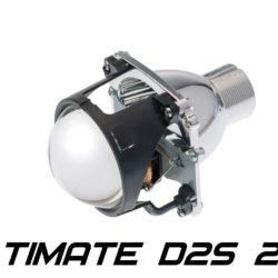 "Биксеноновые линзы Optima Ultimate Lens 2.8"" D2S, круглый модуль под лампу D2S 2.8 дюйма без бленды 11"