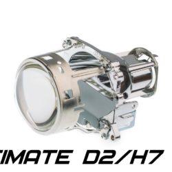 "Биксеноновые линзы Optima Ultimate Lens 3.0"" D2S/H7, круглый модуль под лампу D2S/H7 3.0 дюйма без бленды 12"