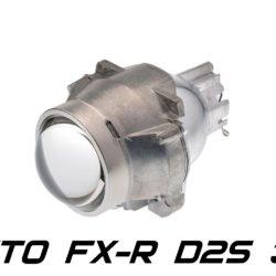 """Биксеноновая линза Koito FX-R 3.0"""" D2S, модуль под лампу D2S 3.0 дюйма без бленды 5"""