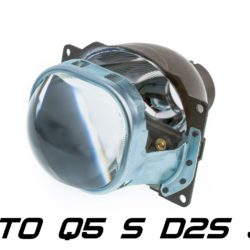 "Биксеноновая линза Koito Q5 Square 3.0"" D2S, квадратный модуль под лампу D2S 3.0 дюйма без бленды 7"
