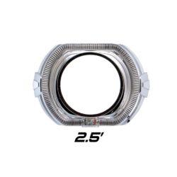 """Декоративная бленда Optima GD136-F2 2.5"""" F-style для линзы 2.5 дюйма со сверхъяркими ангельскими глазками CREE + режим притухания 4"""