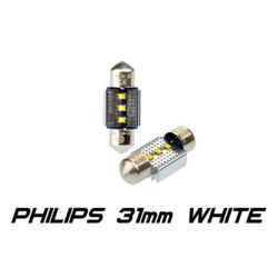 Optima Premium PHILIPS CAN Festoon 31 mm белая с обманкой 4