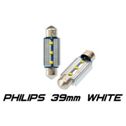 Optima Premium PHILIPS CAN Festoon 39 mm белая с обманкой 6