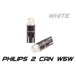 Optima Premium W5W (T10) PHILIPS Chip 2 5100K CAN 12