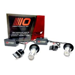 Optima Premium DRL W21W (7440/WY21W/W3X16d) 12